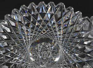 Brilliant Period Cut Glass Bowl