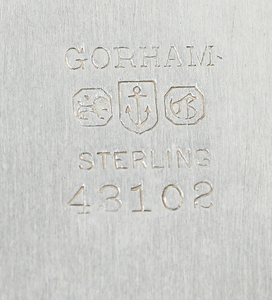 Nine Sterling Table Items