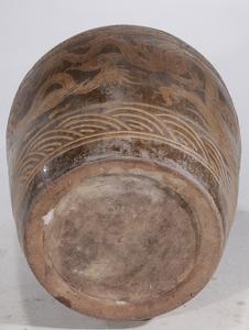 Monumental Chinese Stoneware Dragon Planter