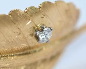 14kt. Diamond Brooch