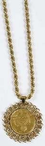 Brazilian Coin Necklace