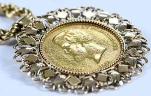 Brazilian Coin Necklace