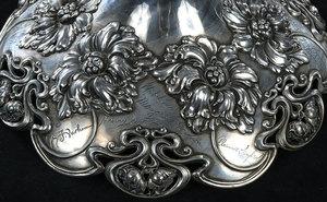 Monumental Cut Glass Presentation Vase