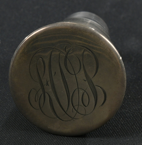 Meriden Brilliant Period Cut Glass Decanter
