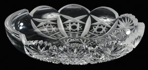 Cut Glass Demonstration Plate