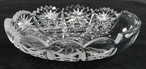Cut Glass Demonstration Plate