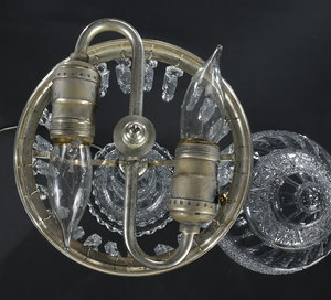 Jewel Brilliant Period Cut Glass Lamp