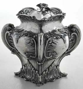 English Silver Tea Caddy