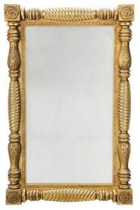 American Federal Giltwood Mirror