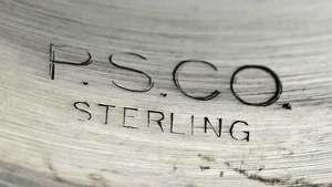 Twelve Sterling Goblets