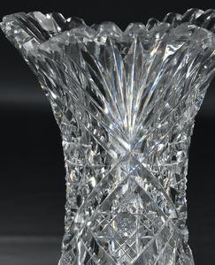 Brilliant Period Cut Glass Vases