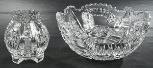 Brilliant Period Cut Glass Table Items