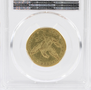 1861 $10 Clark, Gruber & Co. Gold Coin