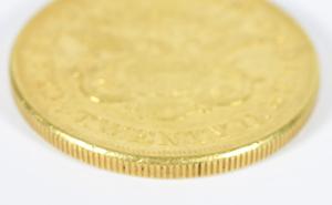 1861 $20 Clark, Gruber, & Co. Gold Coin