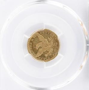 1861 $2-1/2 Clark, Gruber & Co. Gold Coin