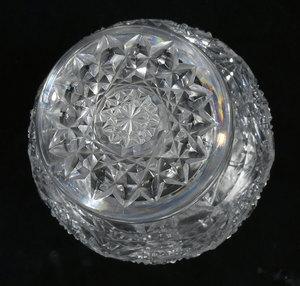Brilliant Period Cut Glass Cider Pitcher, Jar