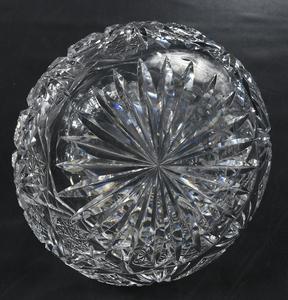 Brilliant Period Cut Glass Flower Centers