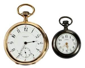 C.H. Meylan 18kt. Repeater Pocket Watch