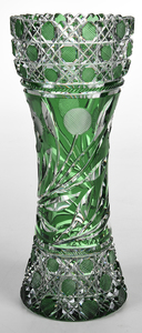 Brilliant Period Cut Glass Vase