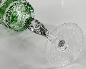 Brilliant Period Cut Glass Tall Stems