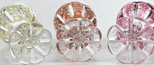 Steven & Williams Cut Glass Decanter/Stems