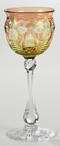 Stevens & Williams Brilliant Period Cut Glass Stem