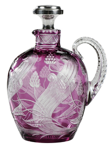Hawkes Brilliant Period Cut Glass Jug