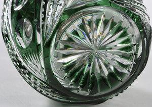 Brilliant Period Cut Glass Humidor