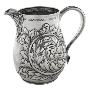 Gorham Sterling Water Pitcher