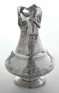 French Silver Pitcher