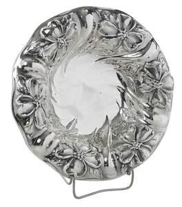 Sterling Floral Bowl