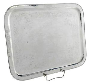 Turkish Silver Tray
