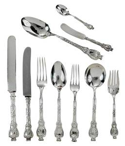 Durgin Sterling Flatware, 101 Pieces