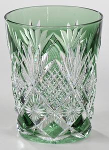 Brilliant Period Cut Glass Carafe, Tumblers