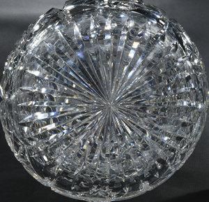 Brilliant Period Cut Glass Decanter/Stems