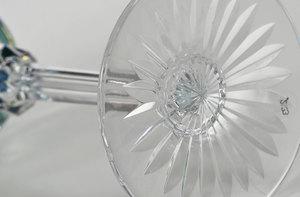 Brilliant Period Cut Glass Rhine Wines