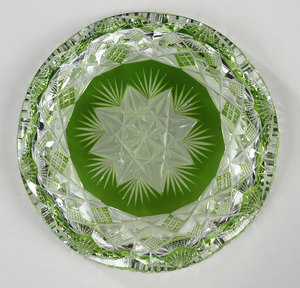 Brilliant Period Cut Glass Dish
