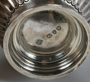 Six English & Continental Silver Table Items