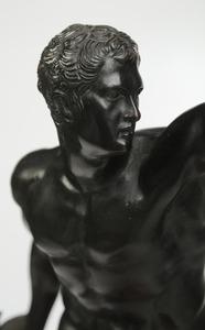 Three Bronze Sculptural Pieces