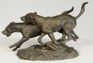 Three Animal Sculptures