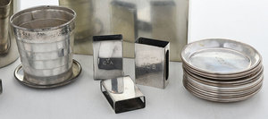 26 Silver Table Items