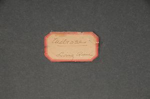 Fine British Needlework Dated 1800