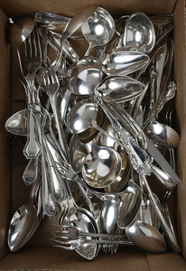 81 Pieces Assorted Sterling Flatware