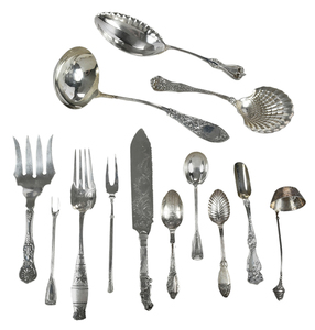 18 Sterling Serving Pieces