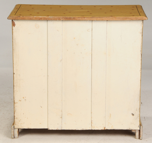 English Faux Painted Four Drawer Chest