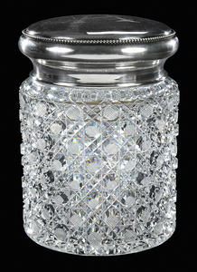 Pairpoint Brilliant Period Cut Glass Humidor