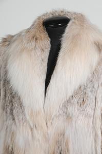 Full Length Canadian Lynx Fur Coat