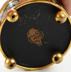 Micromosaic Gilt and Enamel Decorated Box