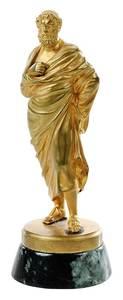 Gilt Bronze Figure of Socrates