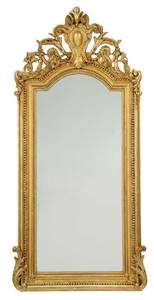 A French Victorian Giltwood Mirror